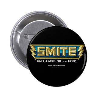 SMITE Logo Battleground of the Gods 2 Inch Round Button