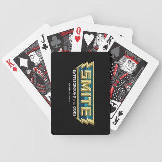 SMITE Logo Battleground of the Gods Poker Deck