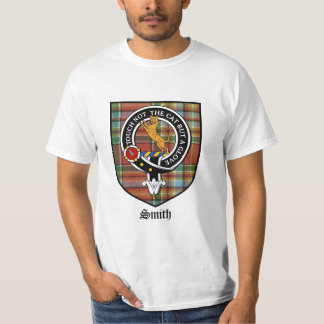Smith Clan Crest Badge Tartan T-Shirt