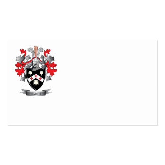 Smith Coat of Arms Business Card