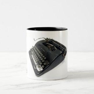 Smith-Corona 4S typewriter Two-Tone Coffee Mug