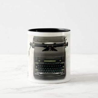 Smith-Corona 7A typewriter Two-Tone Coffee Mug