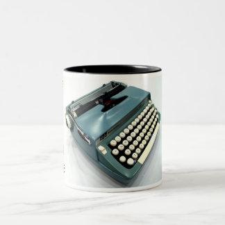 Smith-Corona Super Sterling typewriter Two-Tone Coffee Mug