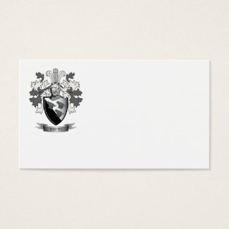 Smith Family Crest Coat of Arms Business Card