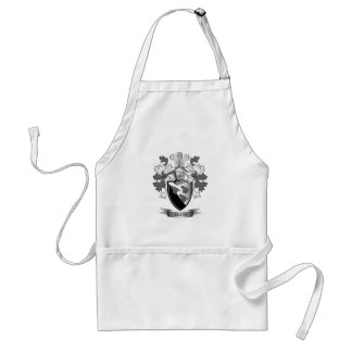 Smith Family Crest Coat of Arms Standard Apron