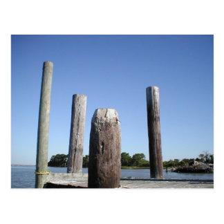 Smith Island Dock Postcard
