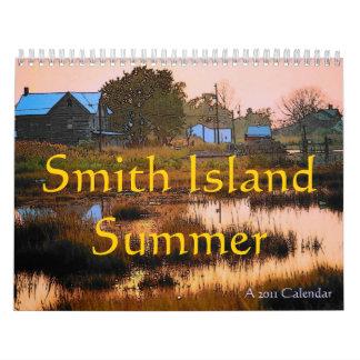 Smith Island Summer Calendar