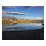 Smith Reservoir Reflections Poster