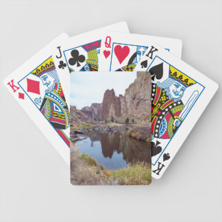 Smith Rock Bend Oregon Bicycle Playing Cards
