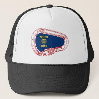 Smith Rock Climbing Carabiner Trucker Hat