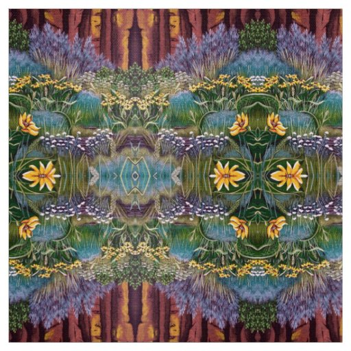 Smith Rock Flowers Fabric