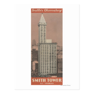 Smith Tower, Seattle's Observatory Post Cards