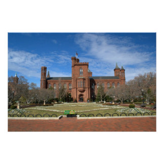 Smithsonian Castle Poster