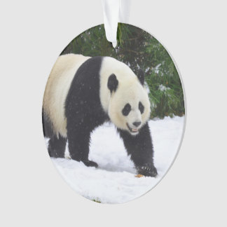 Smithsonian | Giant Pandas In The Snow Ornament