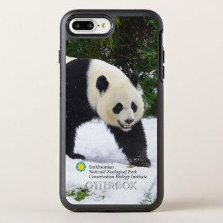 Smithsonian | Giant Pandas In The Snow OtterBox Symmetry iPhone 8 Plus/7 Plus Case