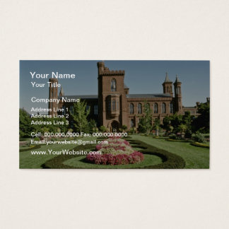 Smithsonian Institute and Enid Haupt Garden Business Card