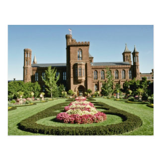 Smithsonian Institute and Enid Haupt Garden Postcard