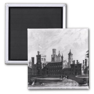 Smithsonian Institution from the South West Square Magnet
