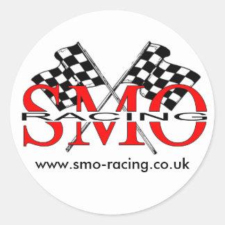 SMO Racing Classic Round Sticker