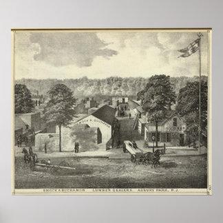 Smock & Buchanon, lumber dealers, Asbury Park, NJ Poster