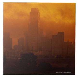 Smog in the City Ceramic Tiles