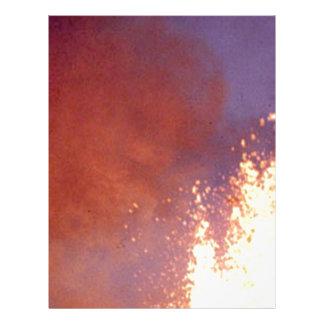 smoke and fire letterhead