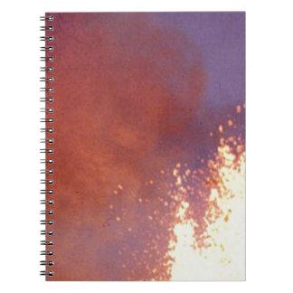 smoke and fire notebooks