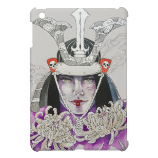 Smoke and flowers cover for the iPad mini
