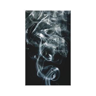 Smoke black and white print