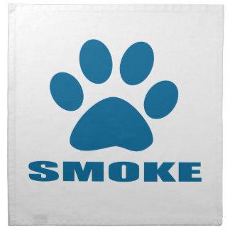 SMOKE CAT DESIGNS NAPKIN