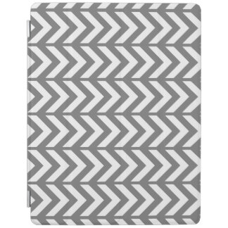 Smoke Chevron 3 iPad Cover
