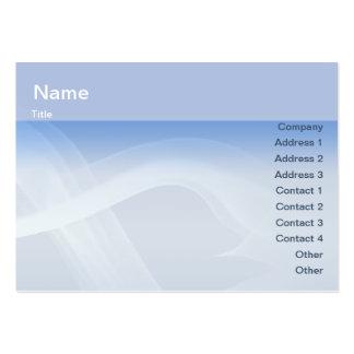 Smoke - Chubby Large Business Card