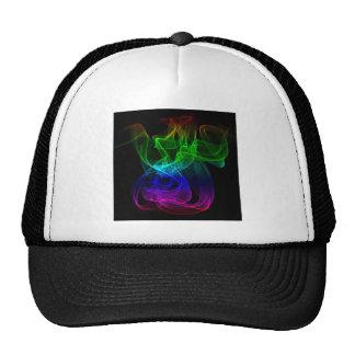 Smoke color mesh hats