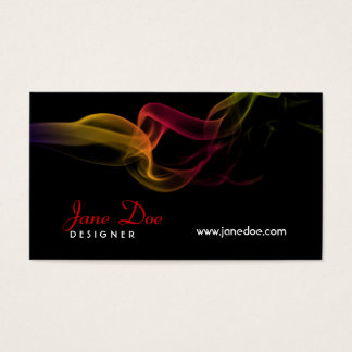 Smoke Design Business Card