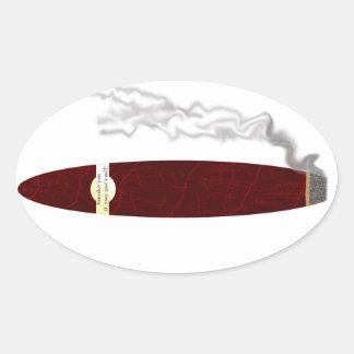 smoke em if you got em oval sticker