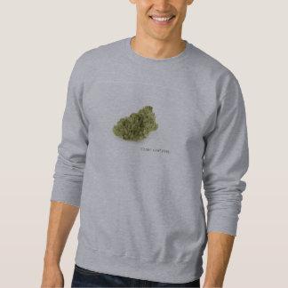 Smoke everyday (grey coat) sweatshirt
