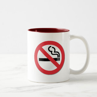 Smoke-free Coffee Two-Tone Coffee Mug