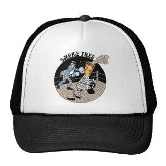 Smoke Free. Kicking butt! Mesh Hats