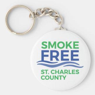 Smoke Free STC Products Keychain
