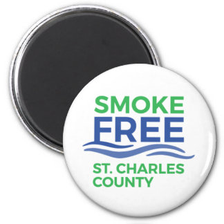 Smoke Free STC Products Magnet