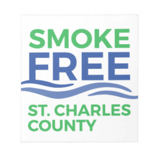 Smoke Free STC Products Notepad