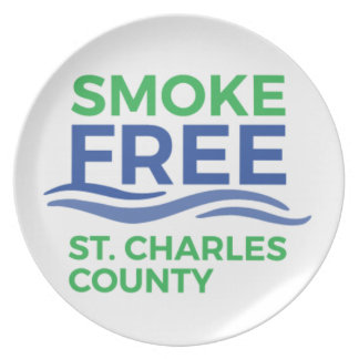 Smoke Free STC Products Plate