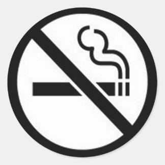 Smoke Free stickers