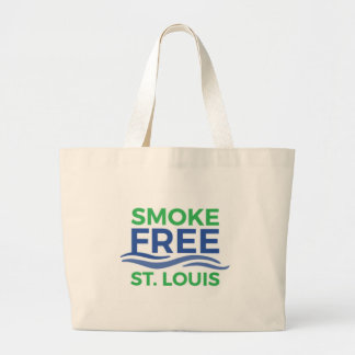 Smoke Free STL Products Large Tote Bag