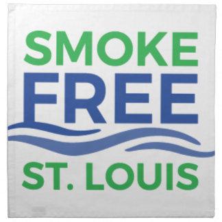 Smoke Free STL Products Napkin