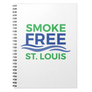 Smoke Free STL Products Notebook