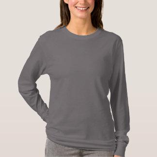 Smoke Grey Women's Basic Long Sleeve T-Shirt
