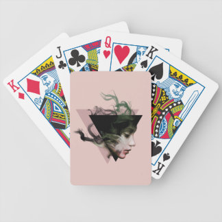 Smoke Illusion Bicycle Playing Cards