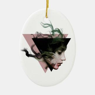Smoke Illusion Ceramic Ornament