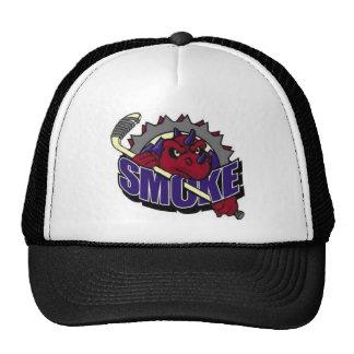 SMOKE LOGO TRUCKER CAP TRUCKER HAT